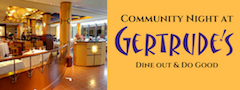 Gertrudes Restaurant on November 30th